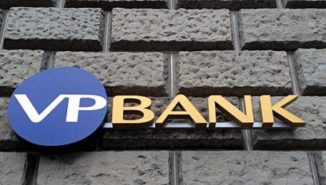 Logo der VP Bank in Zürich.