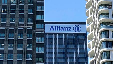Niederlassung von Allianz in Manhattan, New York.