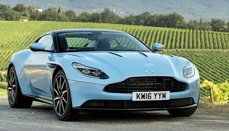 Aston Martin DB11 Coupé, 2017.