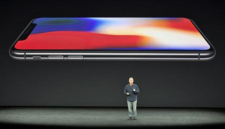 Apple-Präsentation des iPhone X.