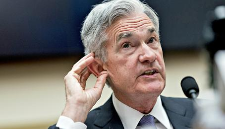 Jerome Powell, Chef der US-Notenbank Federal Reserve.