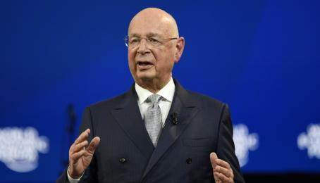 Klaus Schwab am World Economic Forum 2020.