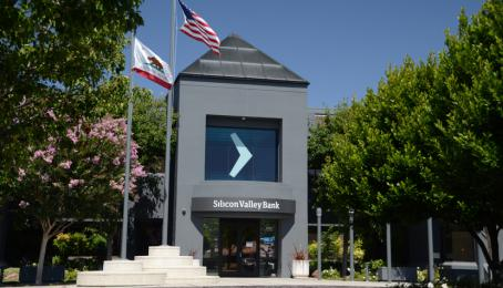 Hauptsitz der Silicon Valley Bank in Santa Clara, Kalifornien.