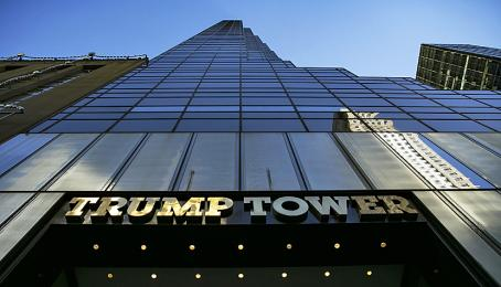 Der Trump Tower in Manhattan, New York (19.12.2018).