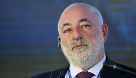 Viktor Vekselberg am St. Petersburg International Economic Forum.