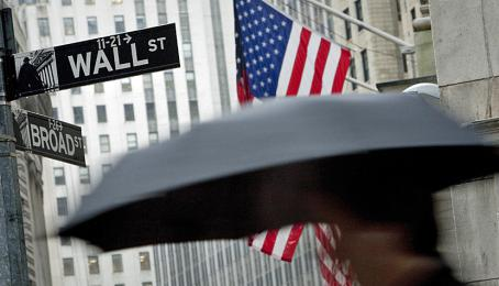 Die Wall Street in New York: Herz der US-Finanzwelt.