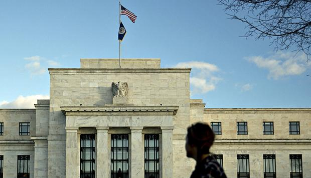Der Sitz der US-Notenbank Fed in Washington.