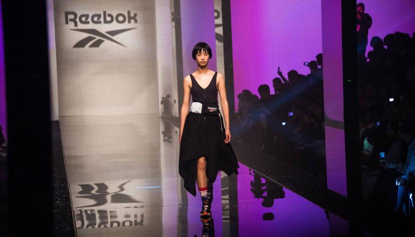 Reebok-Show an der Shanghai Fashion Week 2019.