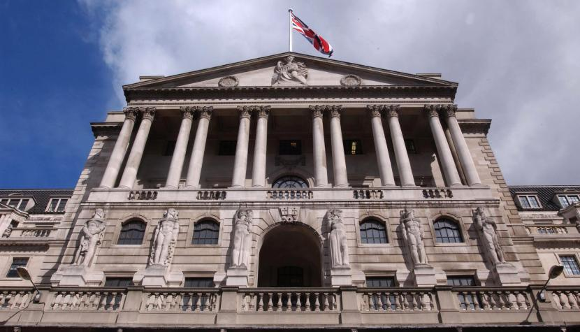 Hauptsitz der Bank of England in London.