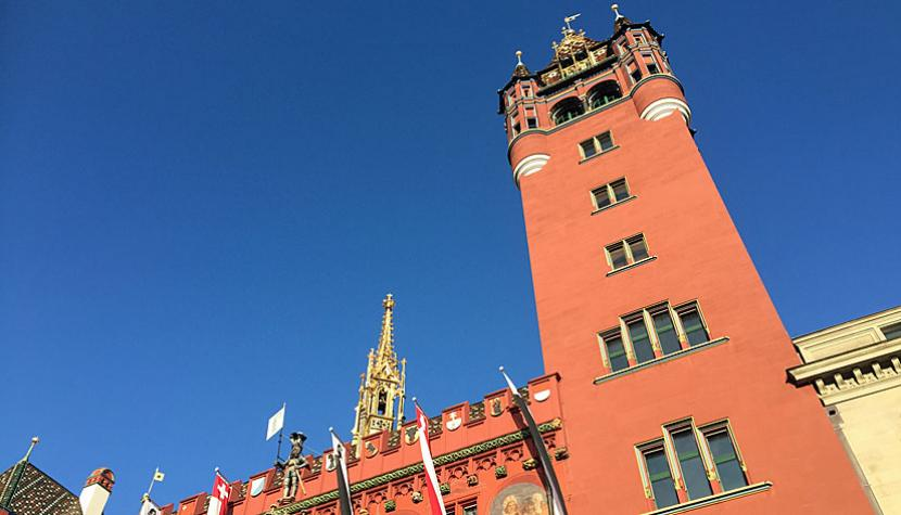 Rathaus in Basel.