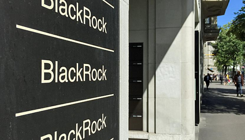 Blackrock-Filiale in Zürich.