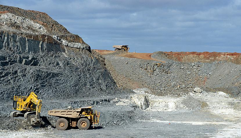 Lithium-Mine in Australien.