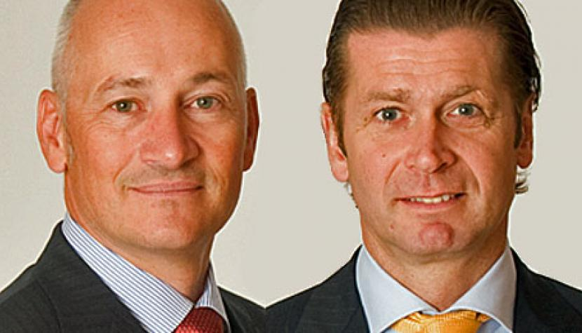 Guido Bühler, B&B Analytics, und Philipp Baretta, B&B Wealth Solutions.