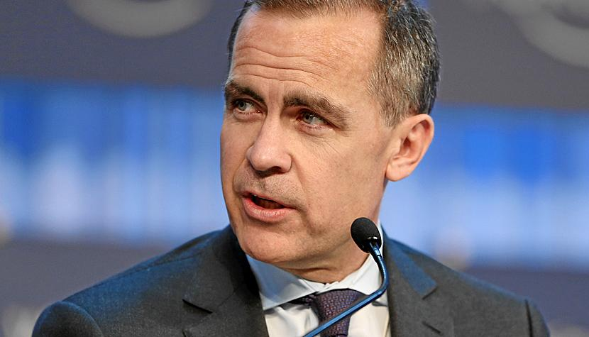Der Gouverneur der Bank of England, Mark Carney.