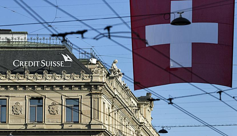 Credit Suisse am Paradeplatz in Zürich.