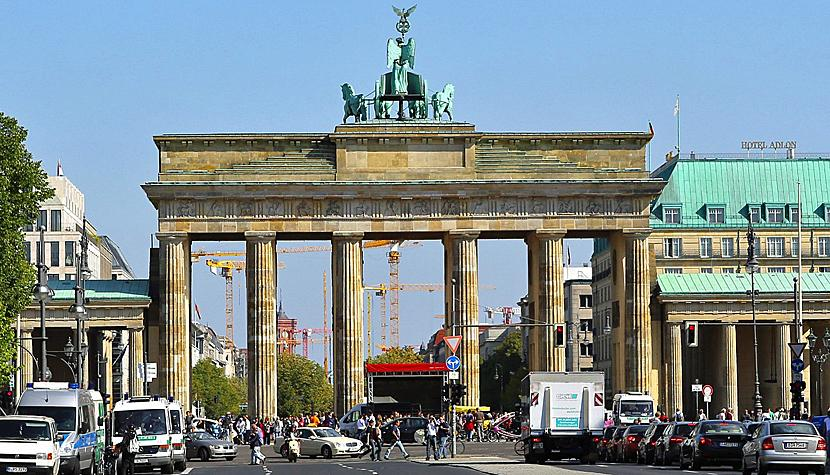 Starke Exporte: Das Brandenburger Tor in Berlin.