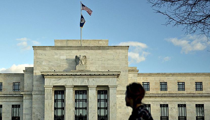 Die US-Notenbank Federal Reserve in Washington D.C.