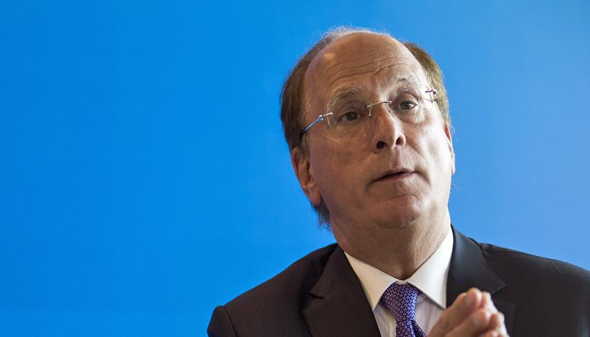 "Laurence ""Larry"" Fink, CEO von Blackrock."