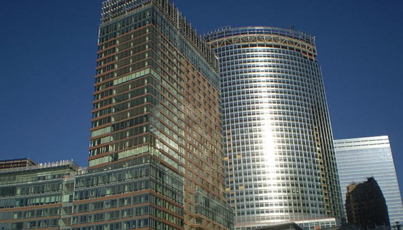 Hauptsitz von Goldman Sachs im New World Headquarters in New York.