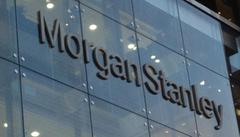 Morgan-Stanley-Gebäude in London.