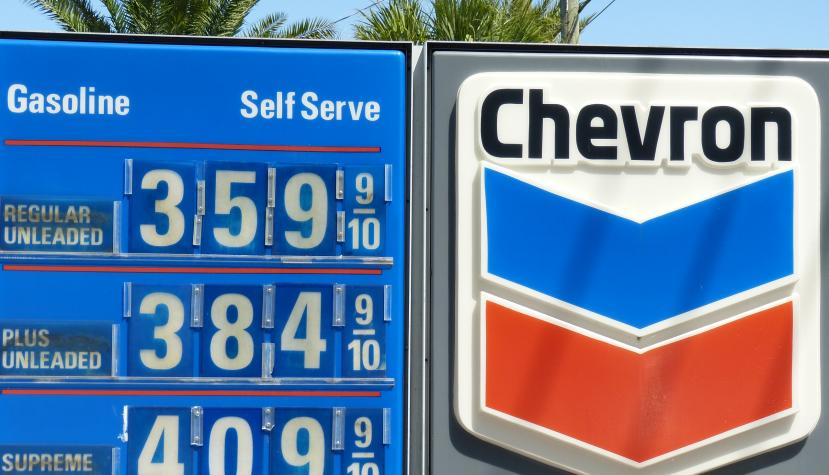 Chevron-Tankstelle in Orlando (USA).