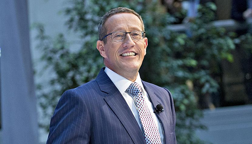 CNN-Journalist Richard Quest.