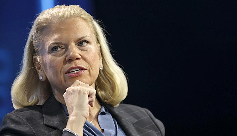 IBM-Chefin Ginni Rometty.
