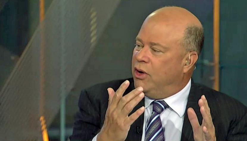 Hedgefonds-Manager David Tepper im Interview mit dem US-Sender CNBC.