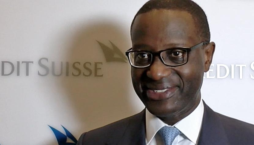 Der CEO der Credit Suisse Group, Tidjane Thiam.
