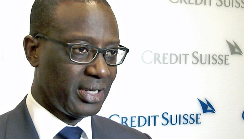 Tidjane Thiam, CEO Credit Suisse Group.
