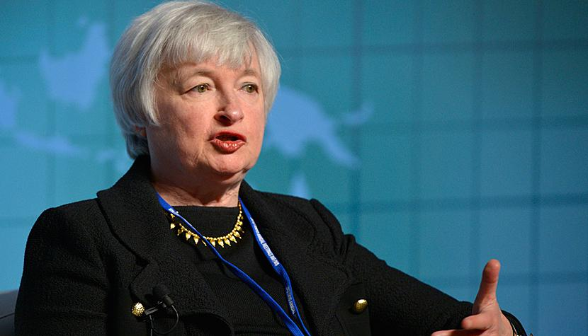 Fed-Chefin Janet Yellen.
