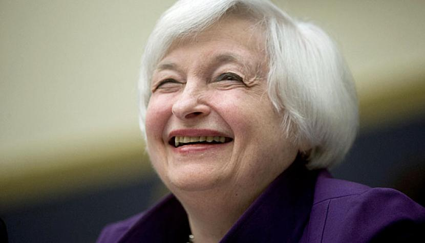 Janet Yellen, Fed-Chefin.