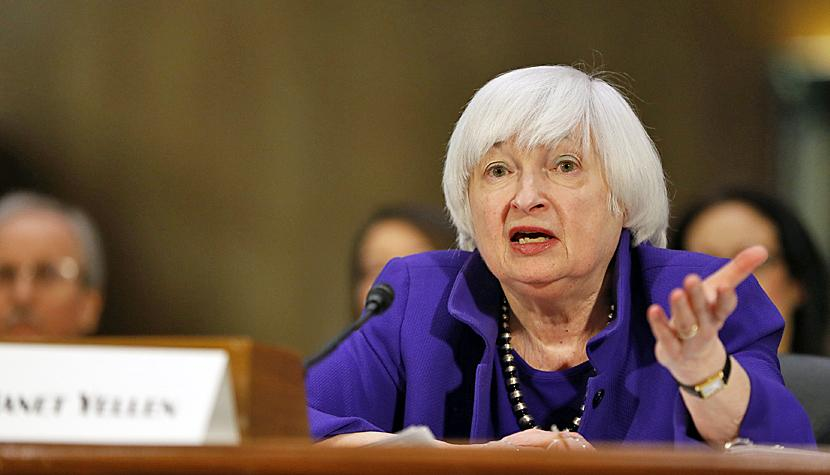 Janet Yellen, Chefin der US-Notenbank Fed.